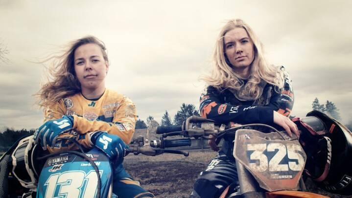 Mellem 'nudes' og værkstedshumor kæmper veninderne Sara og Line for VM-guld