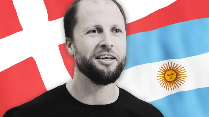 Axel fra Argentina er kaptajn på det danske volleyball-landshold