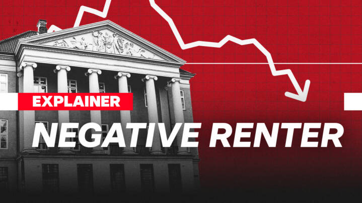 Negative renter: Derfor skal du betale for at have penge i banken