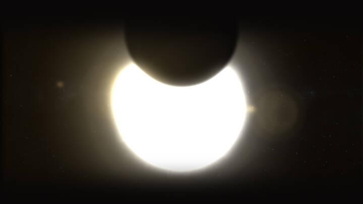 Skete sidst for seks år siden: Gør dig klar til delvis solformørkelse i morgen