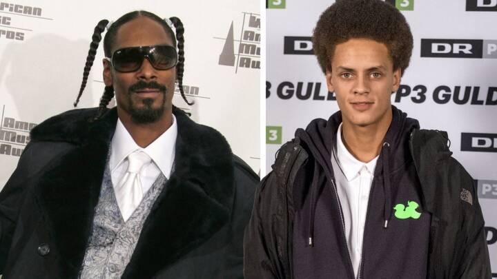 'Det er simpelthen løgn, tænkte jeg': Sådan havnede dansk hitsanger pludselig på nummer med Snoop Dogg