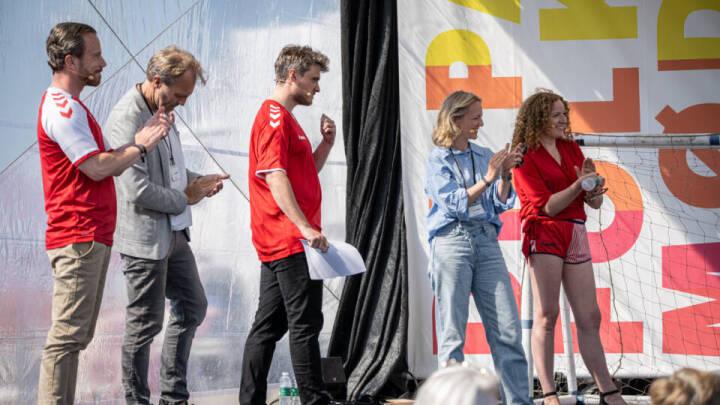 DR's fodboldoptakt til EM-kampen mod Belgien