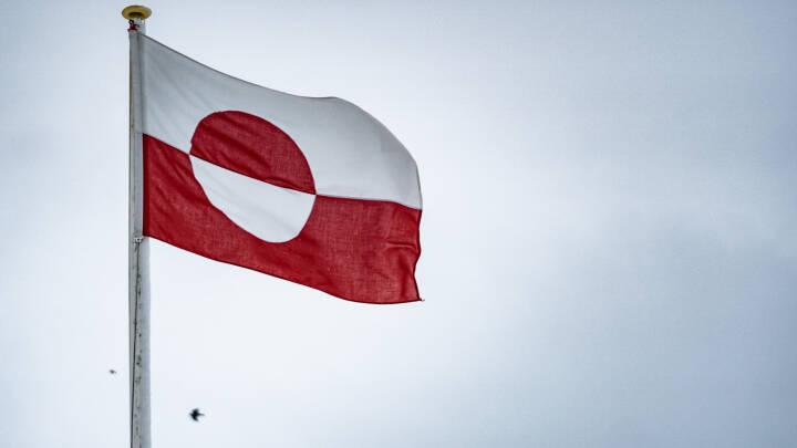 Grønlandsk nationaldag markeres med flag
