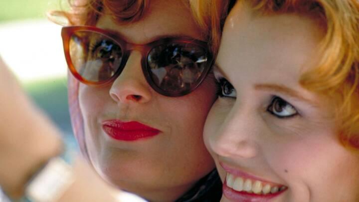 Hollywood-stjerner taler ud 30 år efter shitstorm: 'Thelma & Louise' fornærmede mange mænd
