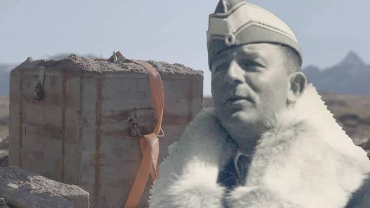 Stor jubel efter succesfuld ekspedition: Hemmelige kasser fra Den kolde krig gravet op i Grønland