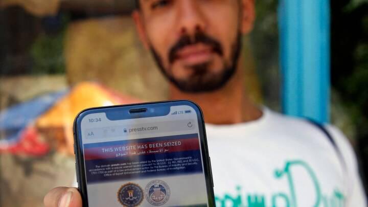 Anklaget for at sprede misinformation: USA's regering beslaglægger 36 iranske mediers hjemmesider