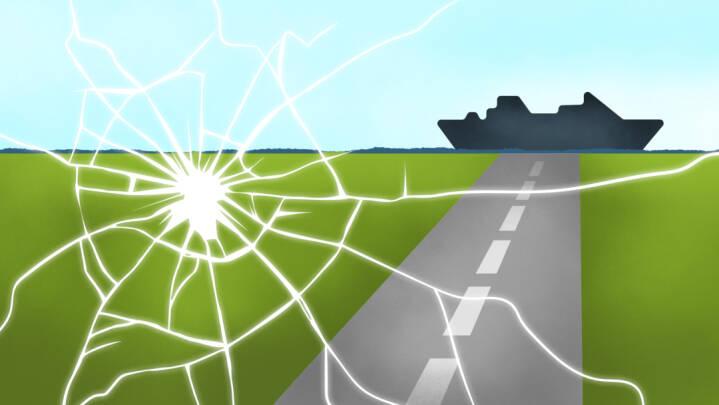 Bornholmerfærgen vil hjælpe i sag om stenkast: Hold ind og anmeld det med det samme - I skal nok komme med over