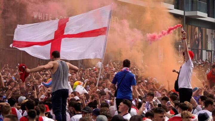 Uefa åbner sag mod Englands fodboldforbund efter EM-finalekaos