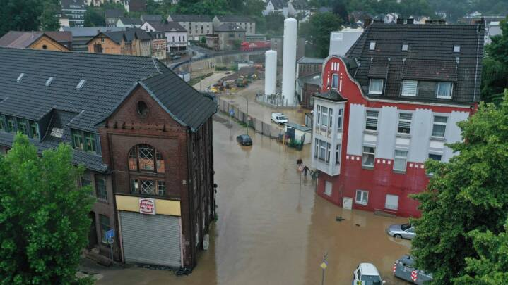 Rettelse i artikel om oversvømmelser i Tyskland