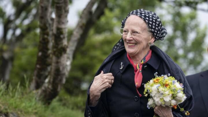 Dronningen afslutter sit besøg på Færøerne: 'Jeg kan jo ikke hoppe op og ned ad fjeldet, som jeg engang måske kunne'
