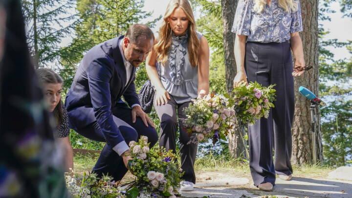 Kronprins Haakon håber, at nordmændene nu kan komme videre