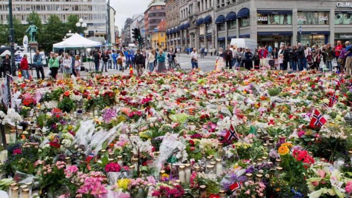 10-årsdag for angrebet på Utøya markeres i Norge