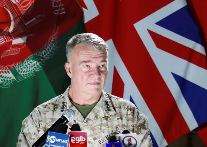 USA vil støtte Afghanistan med luftangreb mod Taliban, lyder det fra topgeneral