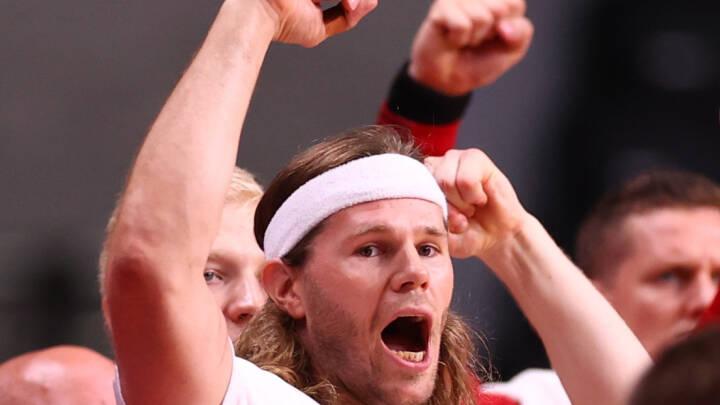 MÅL FOR MÅL Danmark slår Egypten og tager førstepladsen i gruppe B