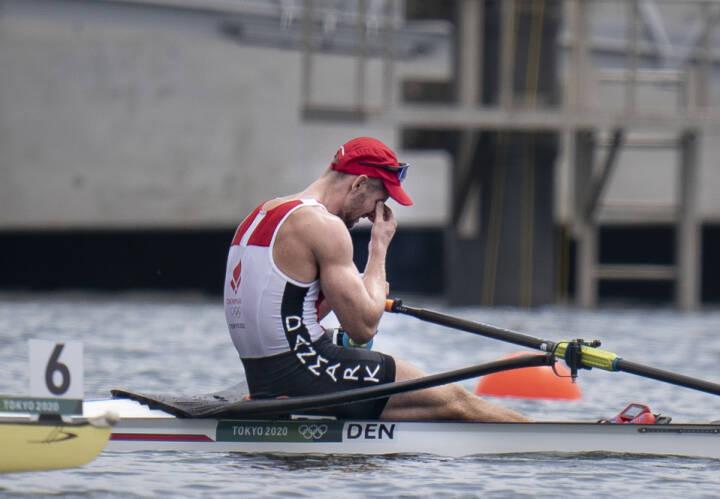 Dansk-færøsk roer misser medalje med få centimeter: 'Jeg er fandme skuffet'