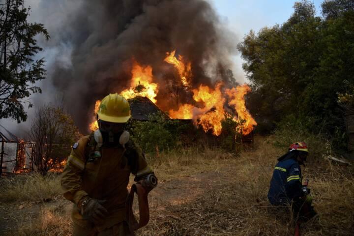 Brande hærger i mange Middelhavslande
