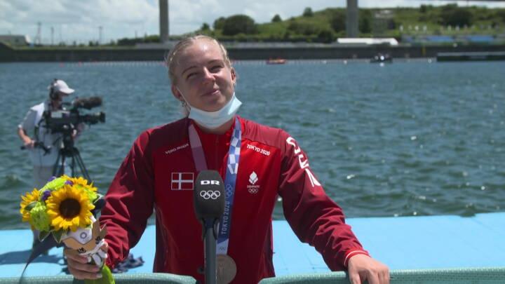 Emma Aastrand skuffet over OL-bronze: 'Jeg troede, jeg havde vundet sølv'
