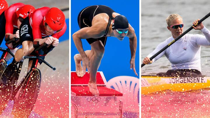 Norman, Aastrand og Blume nærmer sig toppen: Her er danskerne med flest OL-medaljer