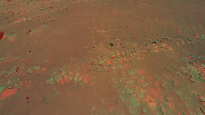 Nasa skaber 3D-billede af overfladen på Mars med billeder fra rumhelikopter