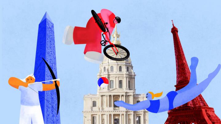 Paris overtager OL-stafetten: Frankrig vil bryde med traditionerne og 'vise kronjuvelerne frem'