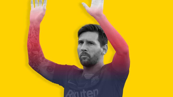 Nu skal den største stjerne af dem alle skinne i lysets by: Lionel Messi skifter til Paris
