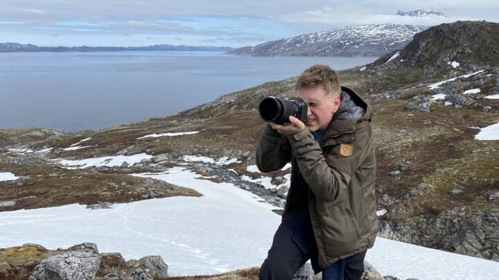 Martin kom med til Grønland efter få måneder i DR: 'Det er simpelthen drømmen'