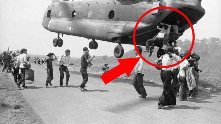 Gentager historien sig i Kabul? Her er 10 ikoniske billeder fra Saigons fald i 1975