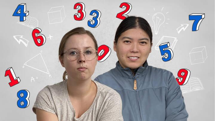 Anne og Nathali blev først erklæret talblinde som voksne: 'Det har i den grad påvirket mit selvværd'