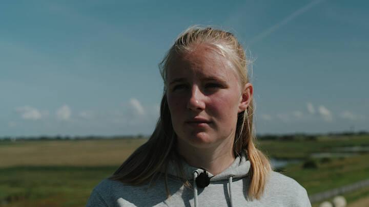 Hendes elskede ø risikerer at drukne: 23-årige Sophie trak den tyske regering i retten og vandt stor klimasejr