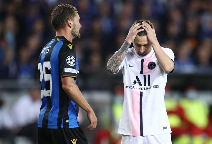 PSG og Messi skuffer i Belgien