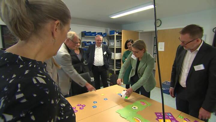 Tyske ministre er i Midtjylland for at lære om dansk digital undervisning
