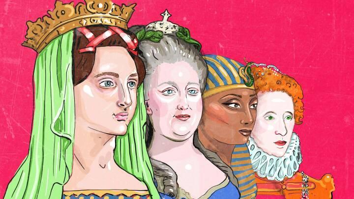 Ny film fortæller om vores første Margrete: Her er 4 ikoniske kvindelige regenter fra verdenshistorien