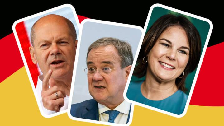 Det tyske valg er helt åbent: I aften dyster Armin, Olaf og Annalena om at overbevise de tvivlende tyskere