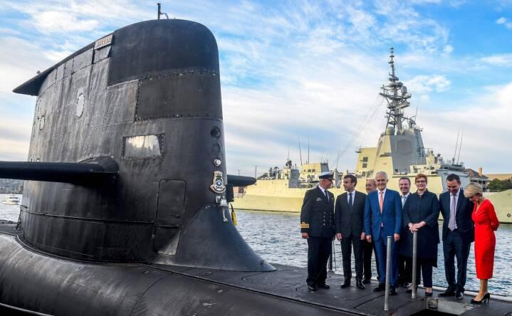 Ubådskrise får Frankrig til at hjemkalde ambassadører i USA og Australien i protest