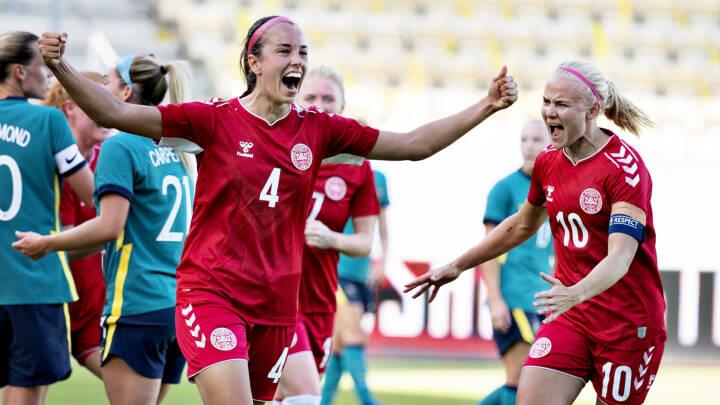 LIVE Drømmestart: Danmark scorer to mål på ti minutter