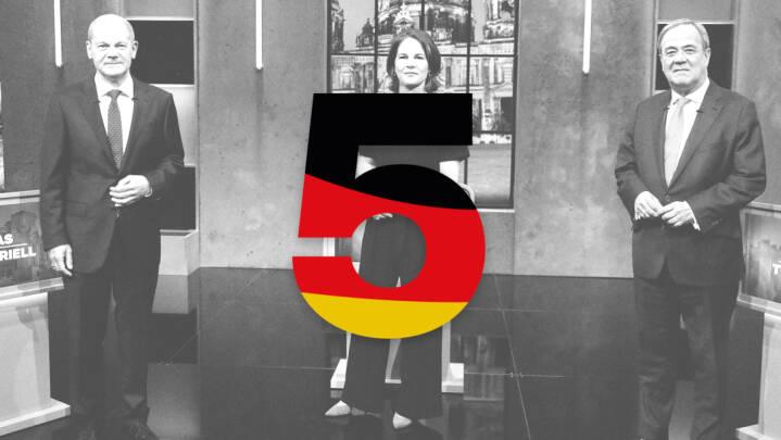 I dag går tyskerne til det mest spændende valg i årevis: Her er 5 ting, du skal holde øje med i aften