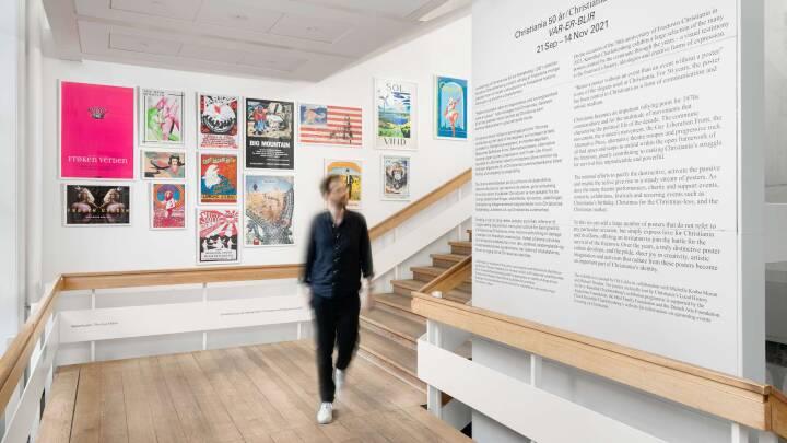 Christiania fylder 50 år: Se billederne af de ikoniske plakater