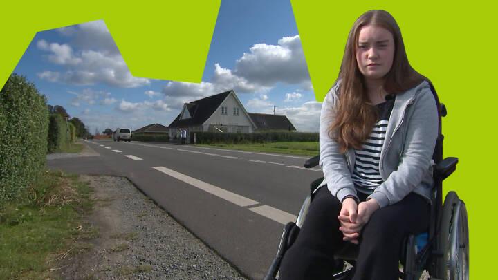 15-årige Daniella blev kørt ned og brækkede ribben, ben og bækken: Tre ud af fire biler kører for stærkt i kommune