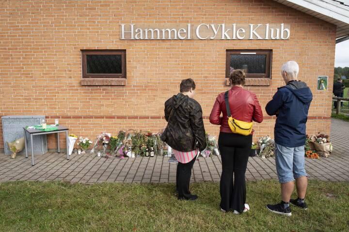 Folk kom fra hele landet for at mindes helten i Hammel: 'Chris Anker satte alle andre før sig selv'