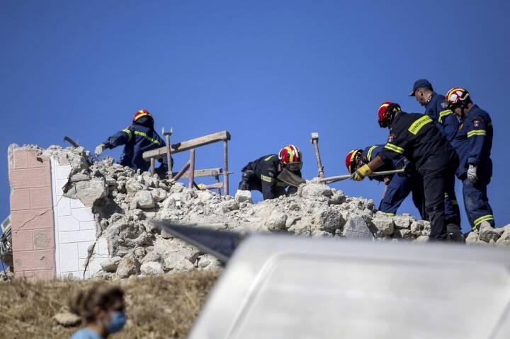 Én meldes dræbt efter jordskælv på Kreta