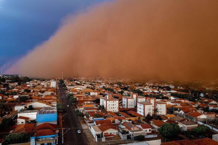 Brasilien ramt af voldsomme sand- og støvstorme