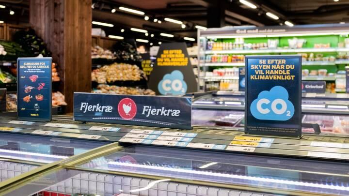 Netto satte klimamærker på varerne og så faldt salget af oksekød