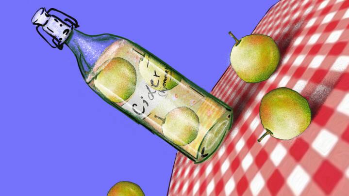 Tryl sæsonens æbler om til lækker drik ... du bliver nærmest høj af det