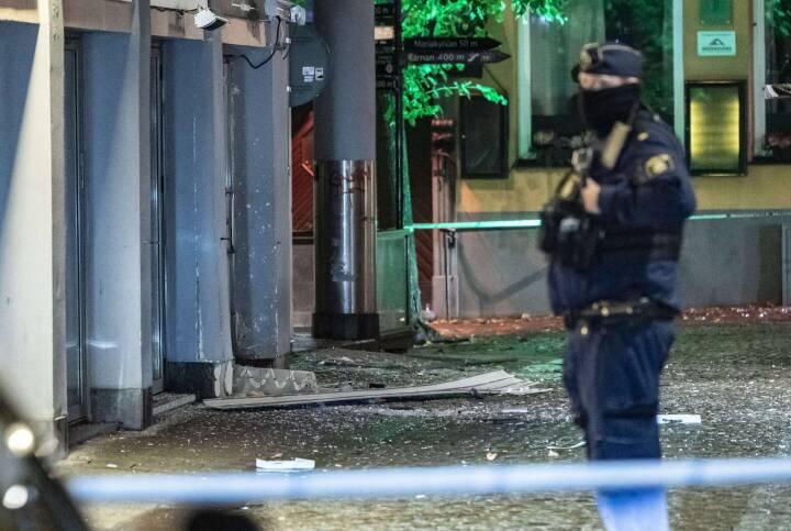 Eksplosion ved natklub i Sverige