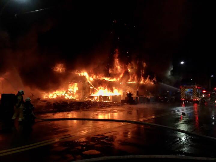 Brand koster 25 mennesker livet i Taiwan