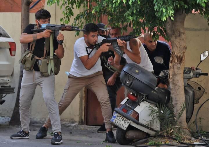 Flere personer dræbt under demonstration i Libanon