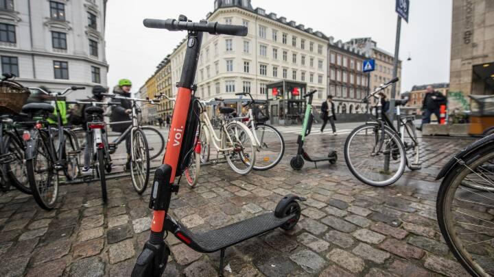 De blev kaldt farlige og lå og flød - men i dag vender udlejningsløbehjulene tilbage til København