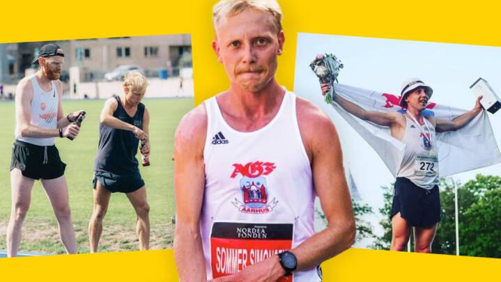 Han er dansk mester og har rekord i særligt øl-løb: 26-årige Jacob insisterer på at hygge sig på sin jagt efter OL-drømmen