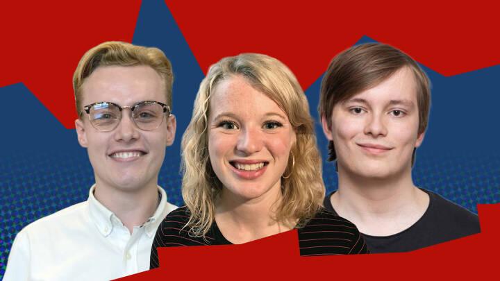 Kristoffer, Laura og Marcus nedgøres på grund af deres alder: 'Det er desværre et vilkår i politik'