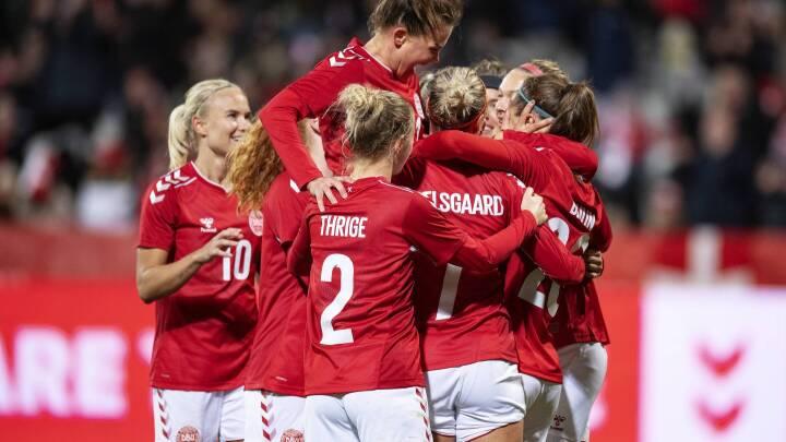 KARAKTERER Bomberen Bruun scorer topkarakter: 'Hun skriver historie med sine fem mål'